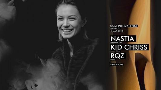 Nastia, K!D Chriss, RQZ @ Cluj-Napoca, Romania
