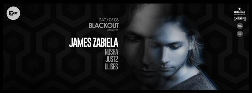 BlackOut with James Zabiela, Nusha, JUST2 and Ulises at Expovest @ Timișoara, Romania