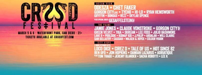 CRSSD Festival @ San Diego, CA, USA