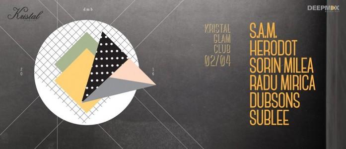 Deep Mix Bucharest pres. S.A.M, HERODOT, Sorin Milea, Radu Mirica, Dubsons, Sublee at Kristal Glam Club @ Bucharest, Romania