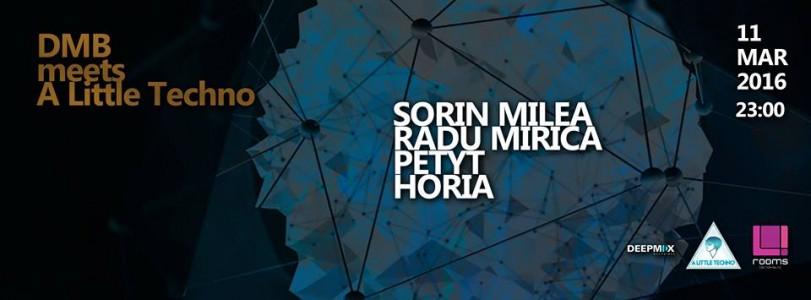 DMB meets A Little Techno: Sorin Milea, Radu Mirica, Petyt, Horia @ Brasov, Romania