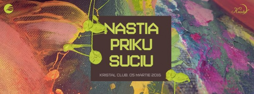 Sunrise: Nastia, Priku, Suciu at Kristal Glam Club @ Bucharest, Romania