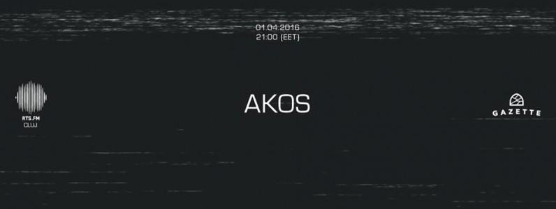 Akos / RTS FM CLUJ @ Cluj-Napoca, Romania