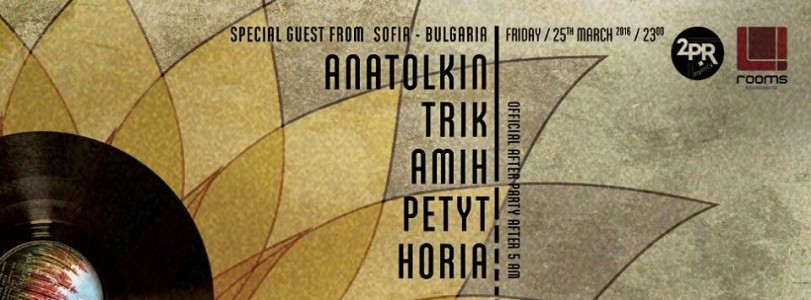 2PR pres. Anatolkin, Trik, Amih, Petyt, Horia @ Brasov, Romania