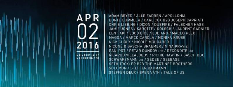 Time Warp Festival DE 2016 @ Mannheim, Germany