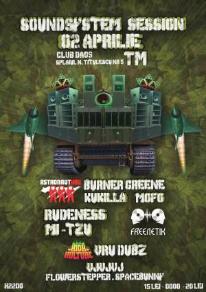 Soundsystem Session // Freenetik Party // Astronaut Kru // High Culture @ Timisoara, Romania