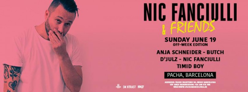NIC FANCIULLI & Friends at Pacha Barcelona Off Week 2016 @ Barcelona, Spain