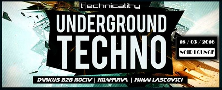 All Night Techno by Technocality @ Timisoara, Romania