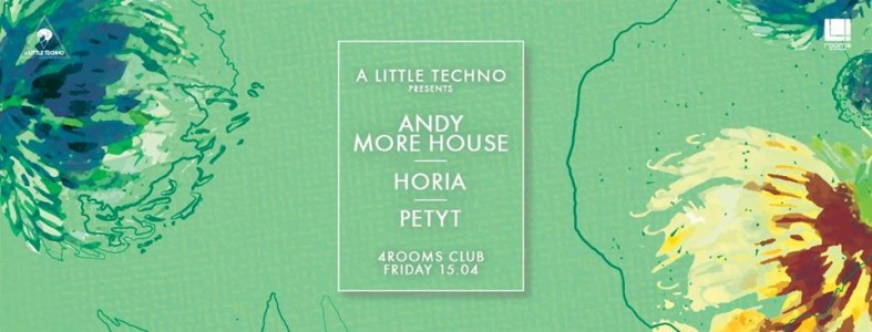 A Little Techno Pres. Andy More House Horia Petyt @ Brasov. Romania