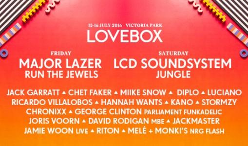 Lovebox Festival 2016 @ London, UK
