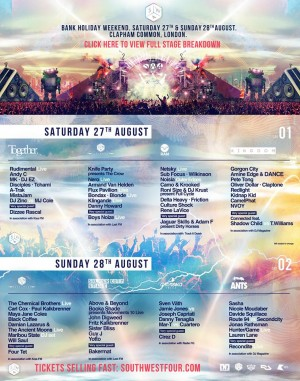 South West Four Festival 2016 @ London, UK
