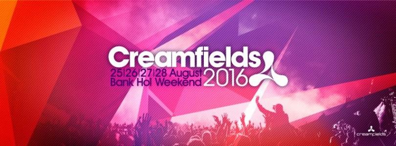 Creamfields 2016 @ Warrington, UK
