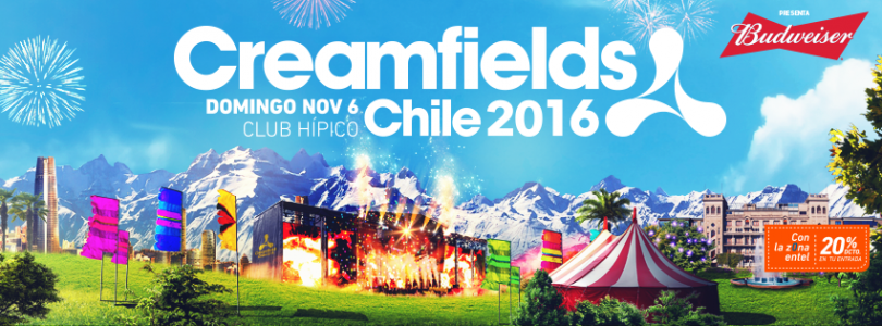 Creamfields Chile 2016 @ Santiago, Chile