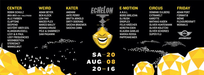 ECHELON Festival 2016 @ Bad Aibling, Germany