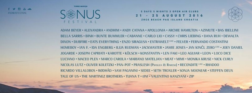 Sonus Festival 2016 @ Novalja, Croatia