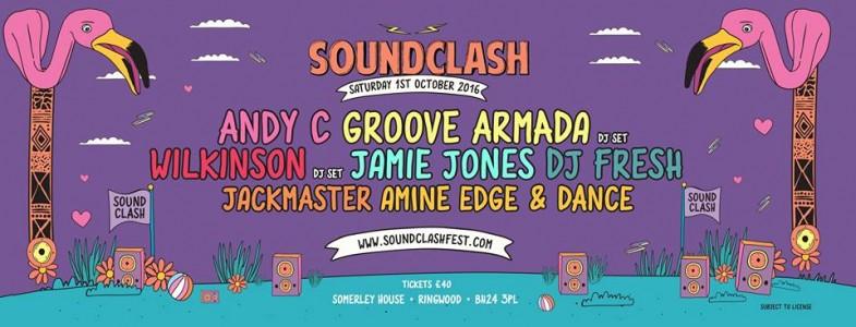 Soundclash Festival 2016 @ Ringwood, UK