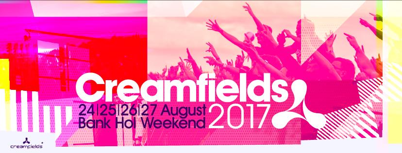 Creamfields 2017 @ Warrington, England